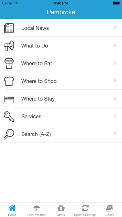 Pembroke App – Local Business & Travel Guide