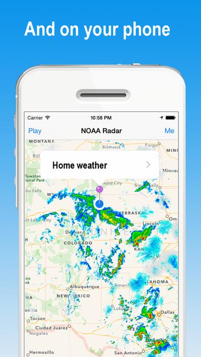 NOAA Watch Radar - Hi-Def Radar & alerts for Storm Warnings and Hurricane  weather   App Price Drops