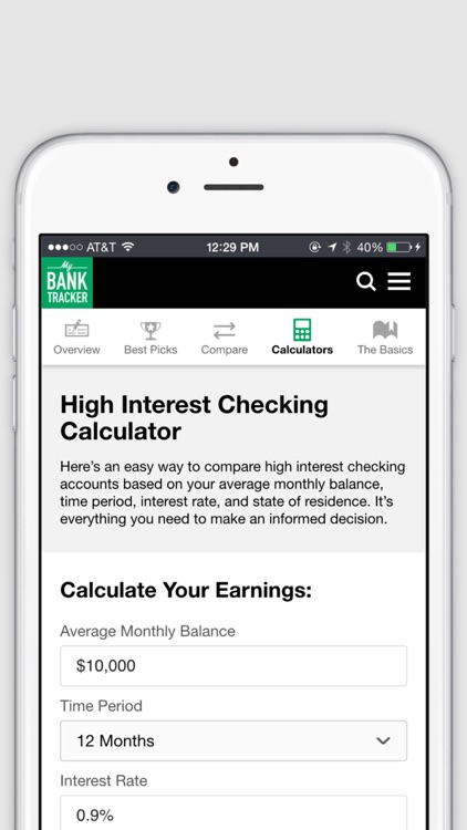 MyBankTracker - Find Top-Rated Banks and Get FREE Personal Finance Advice. screenshot-4