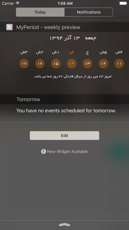 MY Period - Shamsi Calendar