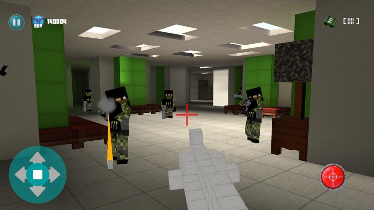 Super Block Hot Sniper - Best Pocket FPS Build Lava Sky Lab Pro Edition screenshot-3