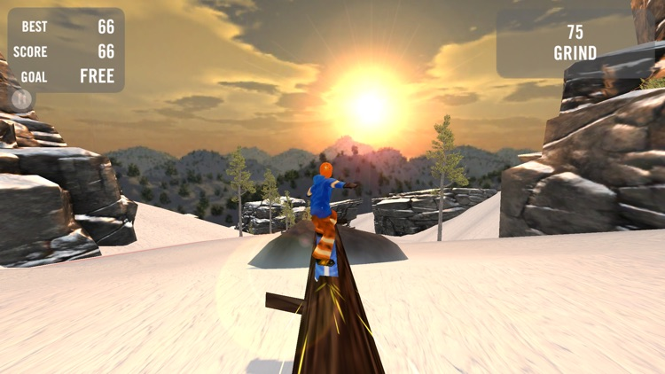 Crazy Snowboard Pro screenshot-2