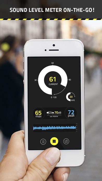 サウンドレベルメータ (dB Meter ... screenshot1