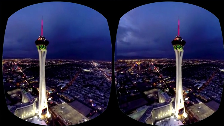 VR Virtual Reality Helicopter Flight Las Vegas screenshot-3