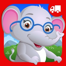Activities of Elephant Preschool Playtime - Toddlers and Kindergarten Educational Learning ABC Numbers Shape Puzzl...