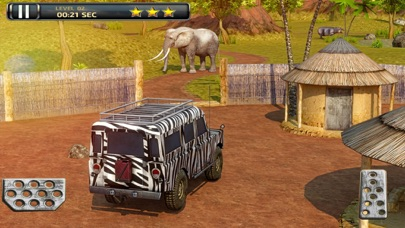 3D Safari Parking Free - Realistic Lion, Rhino, Elephant,