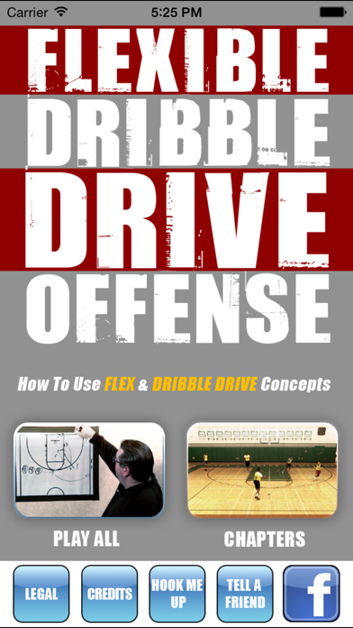 Flexible Dribble Drive Motion (DDM) Offense - With Coach