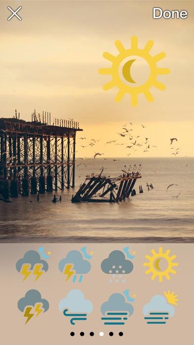 Iconic Weather Stickersのおすすめ画像2