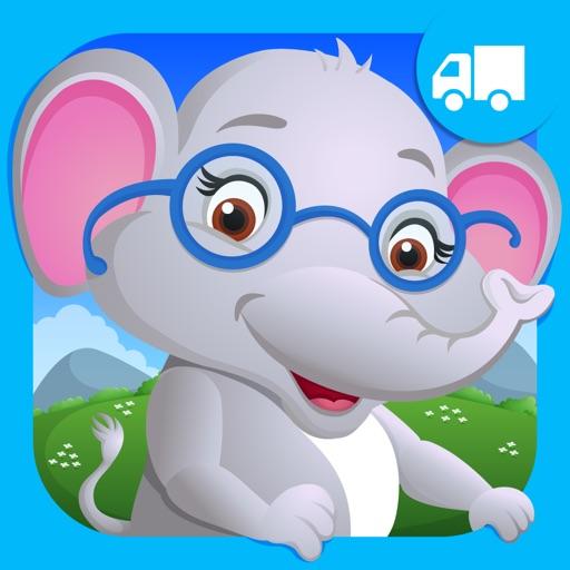 Elephant Preschool Playtime Kids Puzzle Game