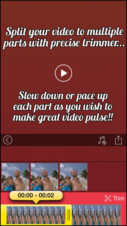 Pulsar Pro - Slow down, Speed up and Accelerate your video