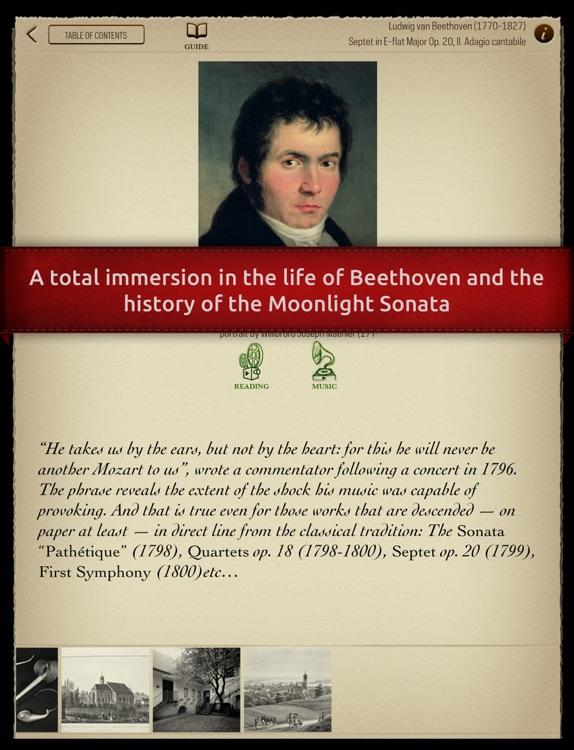 Play Beethoven – « Moonlight Sonata » (interactive piano sheet music) screenshot-4
