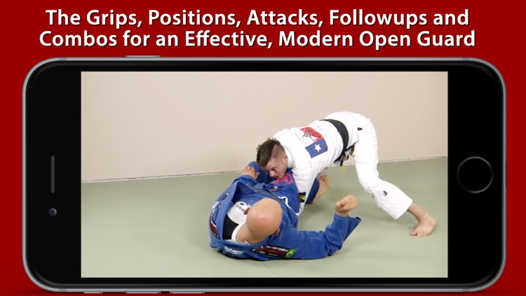 Non-Stop de la Riva Guard - Attacks, Sweeps & Submissions for BJJ by Brandon Mullins & Stephan Kesting screenshot-3