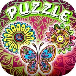 Mandalas Puzzles Slide