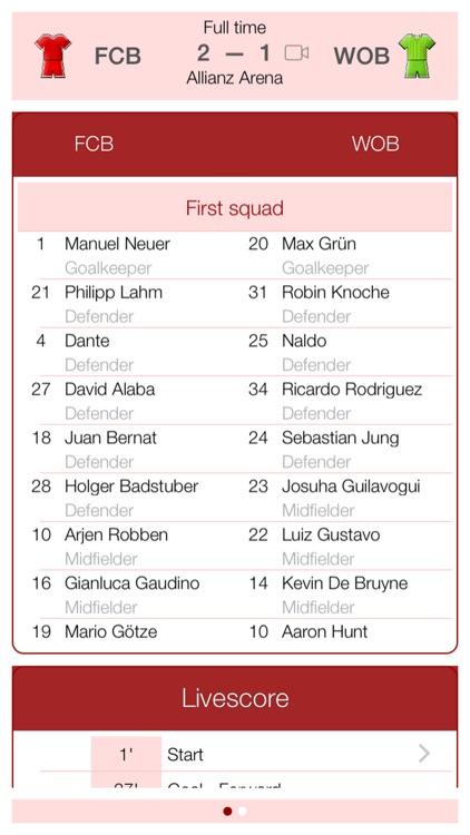 Deutsche Fußball 2011-2012 - Mobile Match Centre screenshot-3