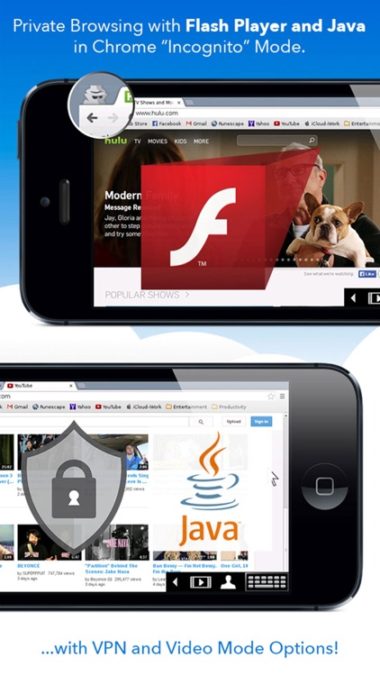 privateBrowser with Flash Player - iPhone edition