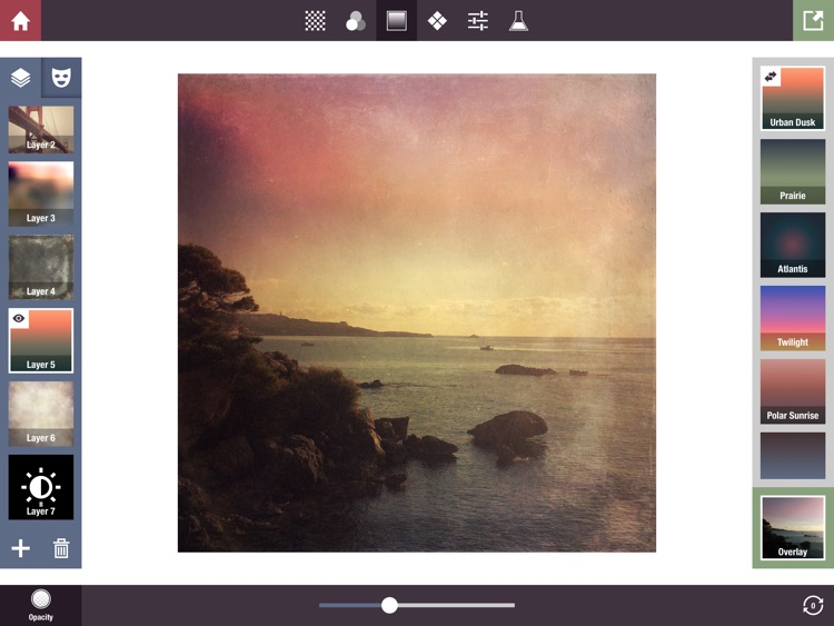 Stackables for iPad - Layered Textures, Effects, and Masks screenshot-2