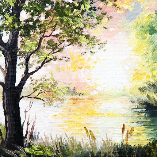 Painting Nature Scenes icon