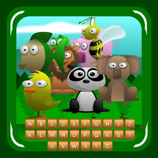 Find Words with Animals (friendly hangman) iOS App