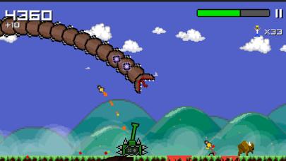 Screenshot from Super Mega Worm