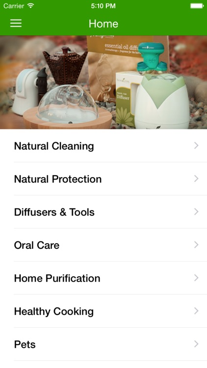Young Living Essential Oils - Mobile app image