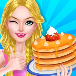 Cooking Beauty's Bakery - Pancakes Cakery