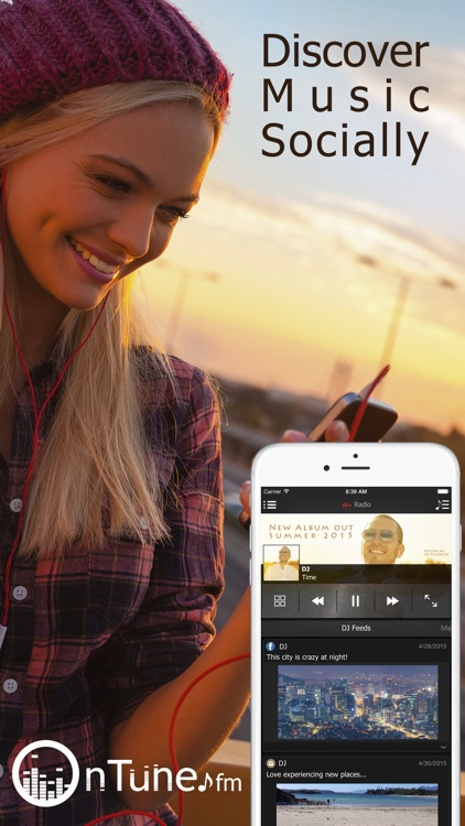 onTune FM - Stream Free Music, Live Radio, & Videos screenshot-0