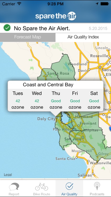 Spare the Air Bay Area screenshot-4