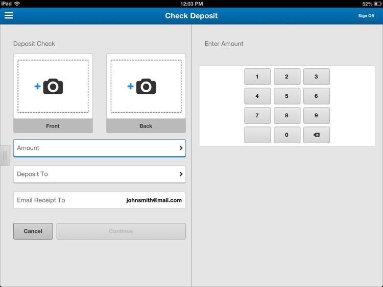 BMO Harris Mobile Banking for iPad screenshot-4