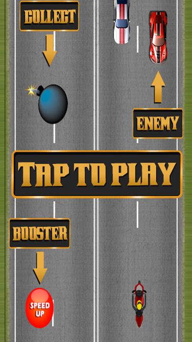 バイクのスピードブースターで無料で楽しいゲームのスクリーンショット2