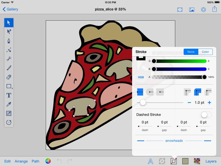 Illustrator for iPad Pro. screenshot-4