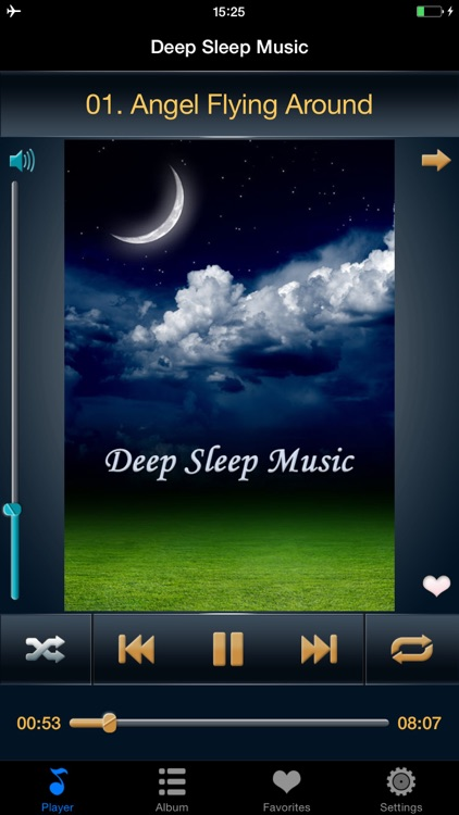 Sleep Music and Sound Free HD - Enter Deep Sleep and Relax your mind thoroughly screenshot-1