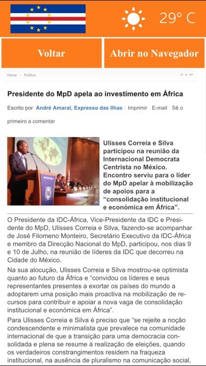 Cabo Verde News