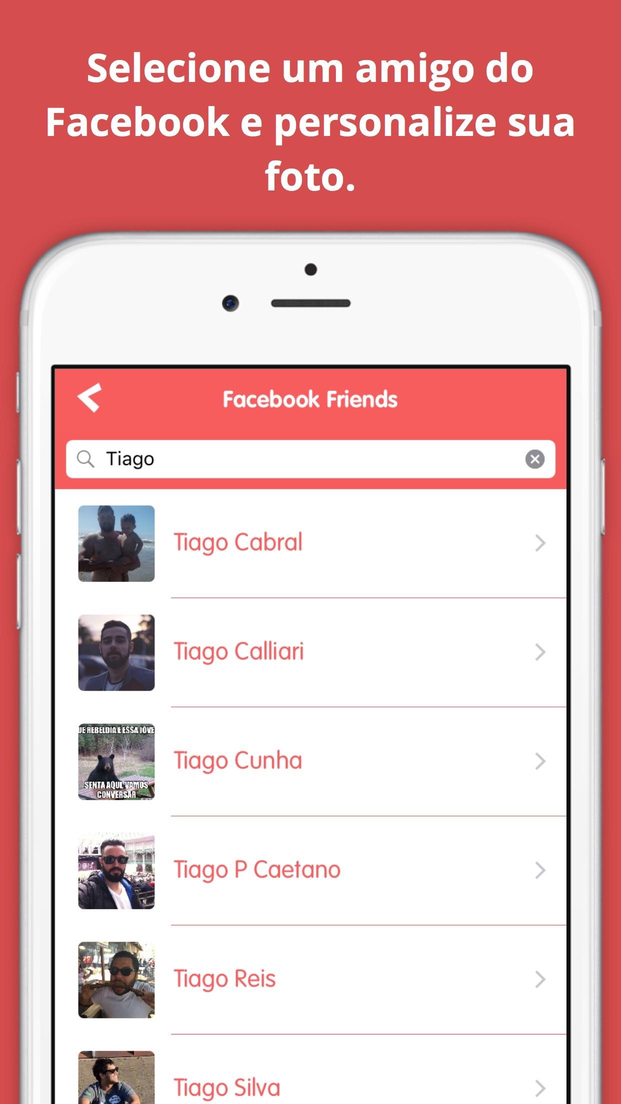 Screenshot do app Claus - Fotos para o Natal
