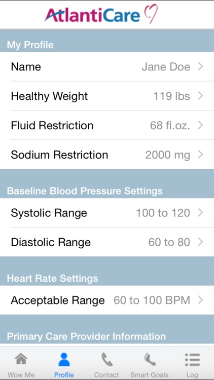 WOW ME 2000mg - Heart Failure Self-management Tool for Patients and Caregivers screenshot-3