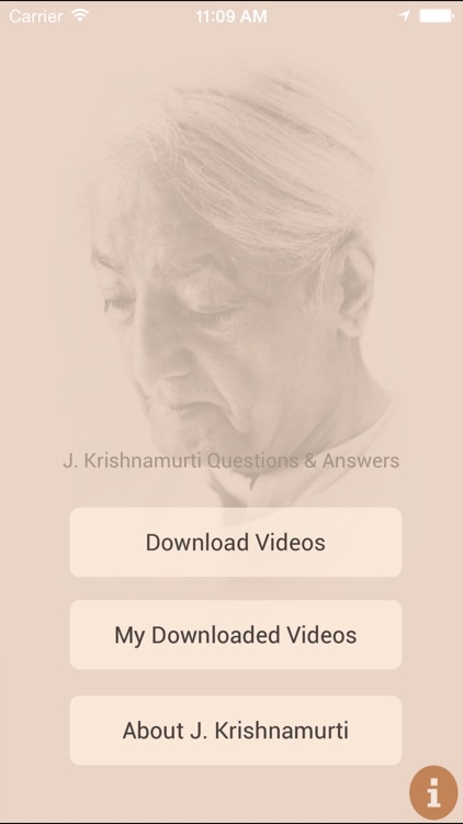 J. Krishnamurti Questions and Answers video app