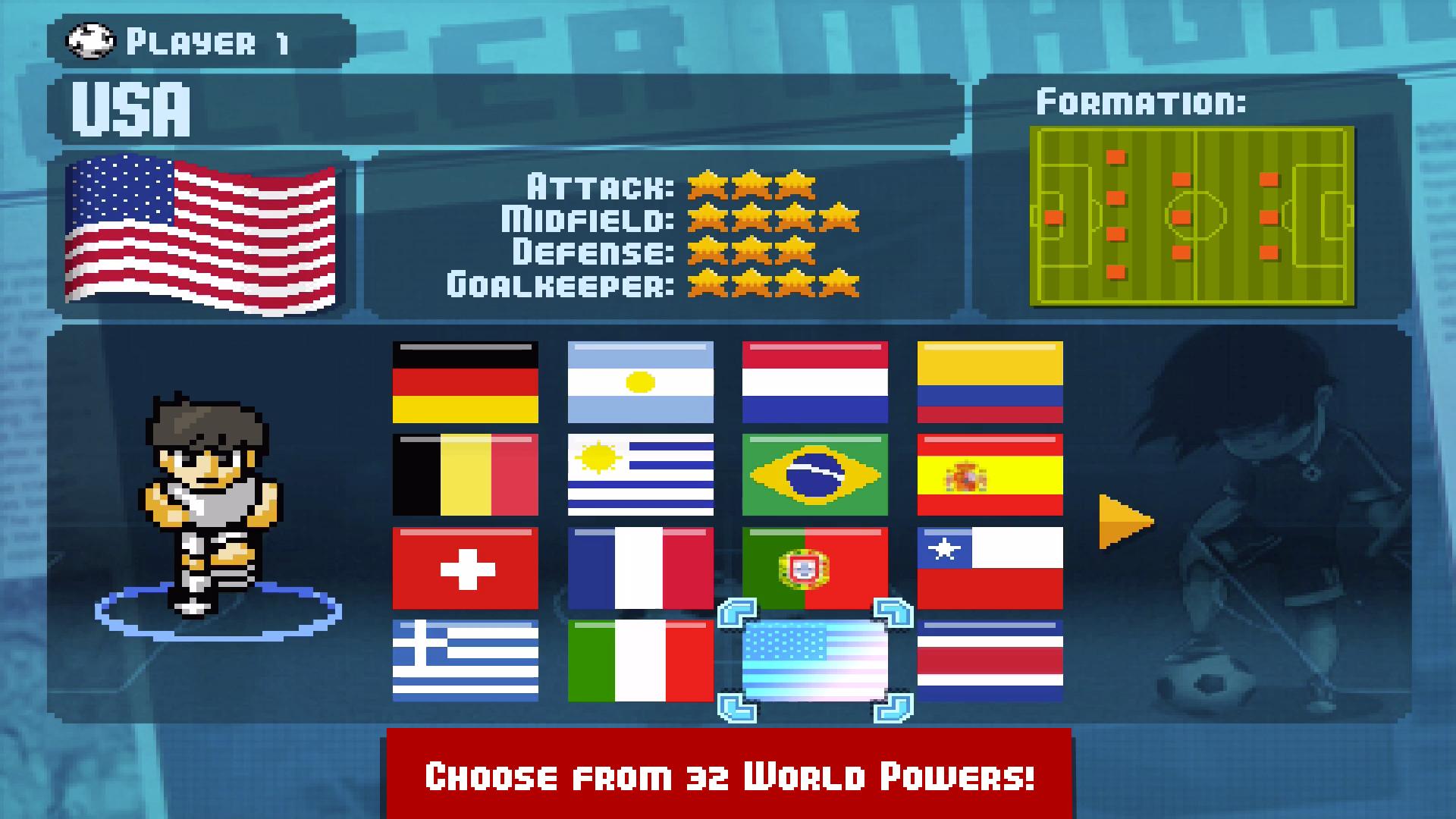 Pixel Cup Soccer screenshot 14