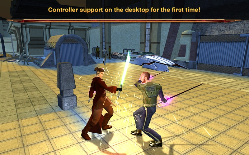 Star Wars®: Knights of the Old Republic™ II Screenshot
