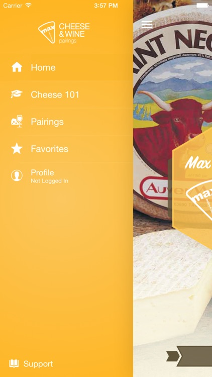 Max McCalman's Cheese & Wine Pairing App screenshot-1