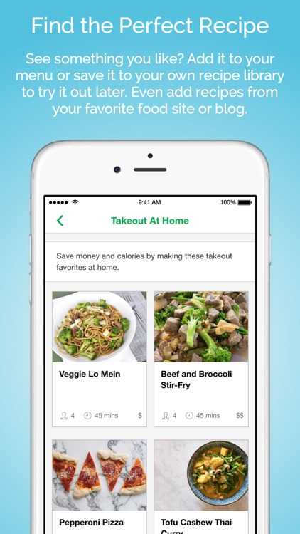 Gatheredtable - Customized weekly menus and smart grocery lists screenshot-3
