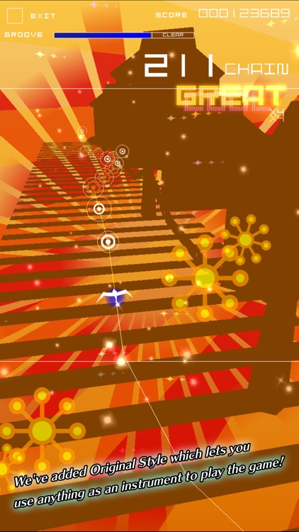 Groove Coaster 2 Original Style screenshot-3