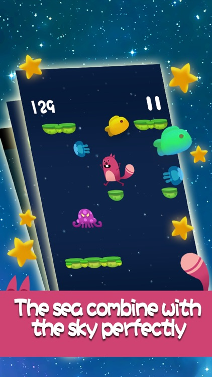 Tap Tap Squirrel(touch the sky) screenshot-3