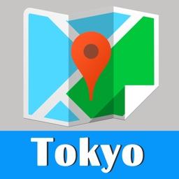 Tokyo Map offline, BeetleTrip metro travel guide trip route planner advisor