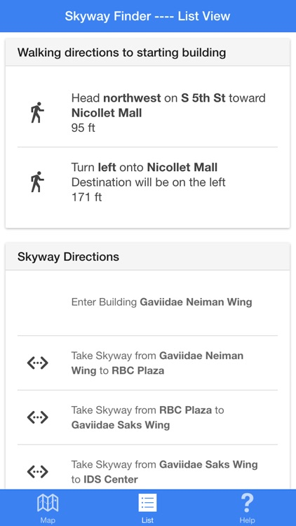 Skyway Finder