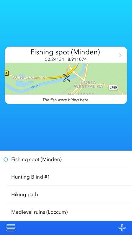 xMarker - The GPS Map Marker App