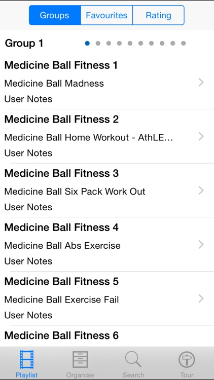 Medicine Ball Fitness screenshot-1