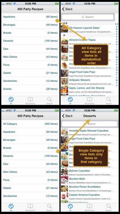 400 Party Recipes
