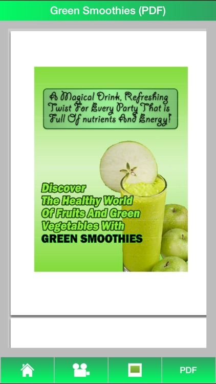 Green Smoothies Guide - Learn How To Make Green Smoothies For Healthy ! screenshot-3