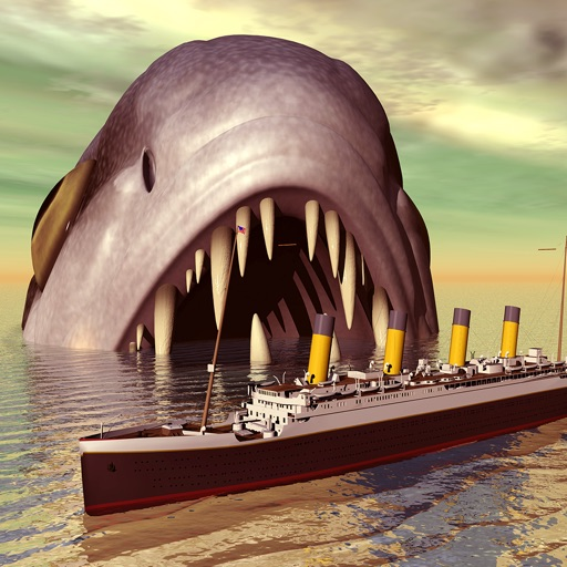 Мега-акула Apache шторм 3D - смертельно глубокое море большой белый охотник