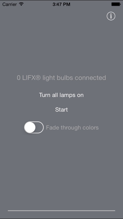 Music Visualizer for LIFX®