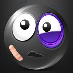 Black Text Smileys Keyboard - Black Emojis & Extra Emojis by Emoji World